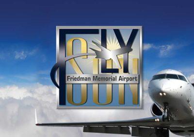 Friedman Memorial Airport Branding